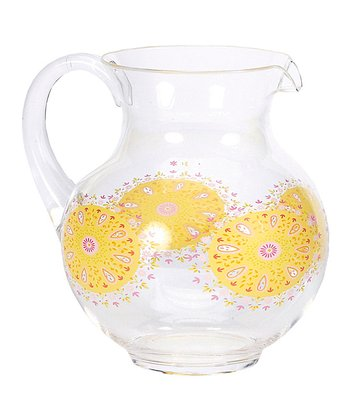Sunshine Acrylic Pitcher