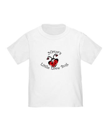 White 'Nana's Little Love Bug' Tee - Toddler