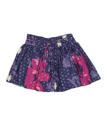 Purple Tina Skirt - Girls
