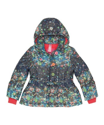 Navy Babs Jacket - Infant, Toddler & Girls