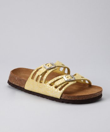 Yellow & Silver Sonoma Sandal - Women