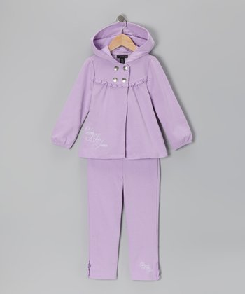 Lilac Snap Jacket & Pants - Infant