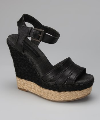 Black Breezie Espadrille