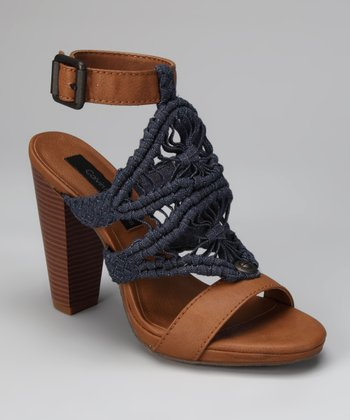 Dark Denim Bella Sandal