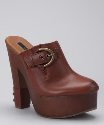Whiskey Leather Talisa Clog