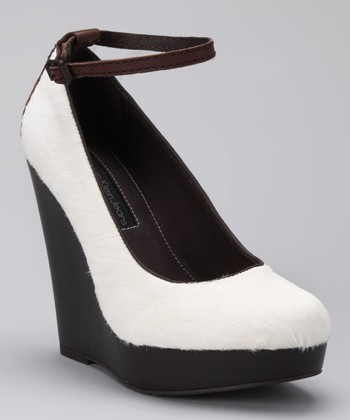 Off-White Haircalf Harla Wedge Pump