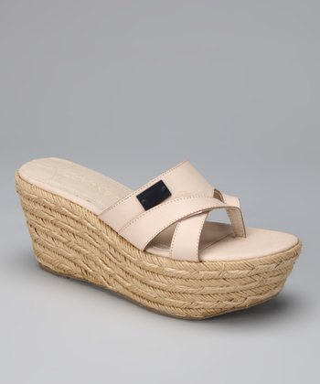 Shell Cori Wedge Espadrille