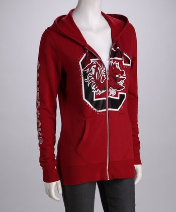 Cardinal South Carolina Courtney Zip-Up Hoodie - Women