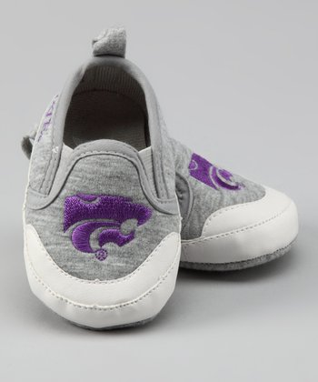 Gray Kansas State Shoe - Kids