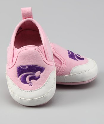 Pink Kansas State Shoe - Kids