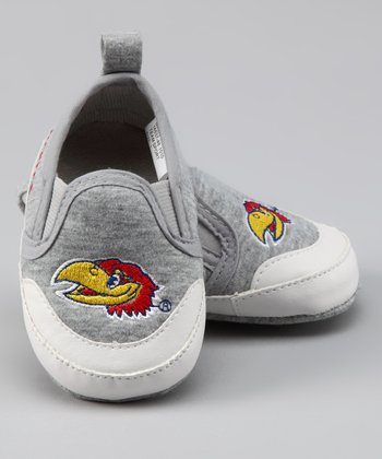 Campus Footnotes Gray Kansas Shoe - Kids