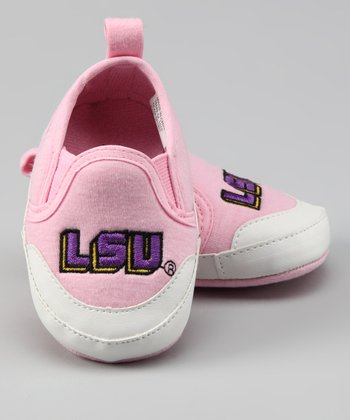 Campus Footnotes Pink Louisiana State Shoe - Kids