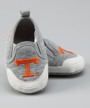 Campus Footnotes Gray Tennessee Shoe - Kids