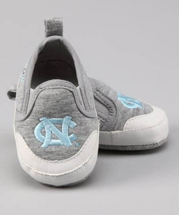 Campus Footnotes Gray North Carolina Shoe