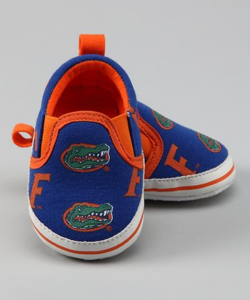 Campus Footnotes Blue & Orange Florida Shoe