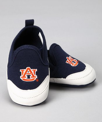 Campus Footnotes Navy Auburn University Shoe - Kids