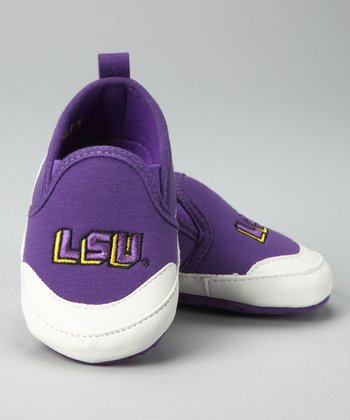 Campus Footnotes Purple Louisiana State Shoe - Kids