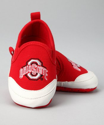 Red Ohio State Shoe - Kids