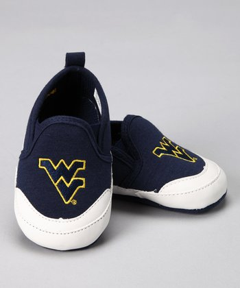 Campus Footnotes Navy West Virginia Shoe - Kids