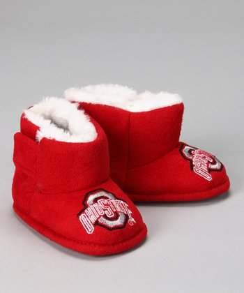 Red Ohio State Boot - Kids
