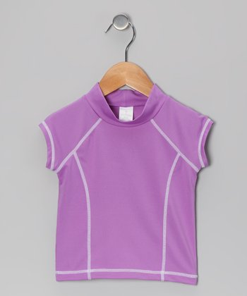 Purple Rashguard - Toddler