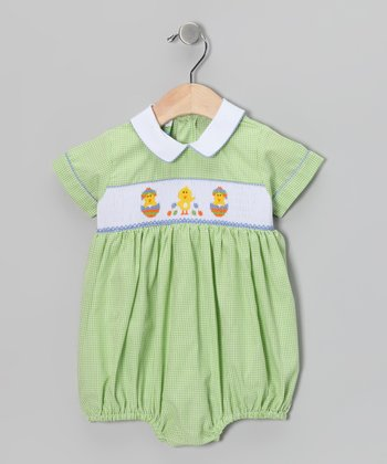 Green Chick Bubble Bodysuit - Infant