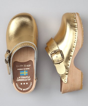 Gold Clog - Kids