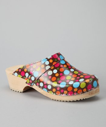Brown Confetti Clog - Women