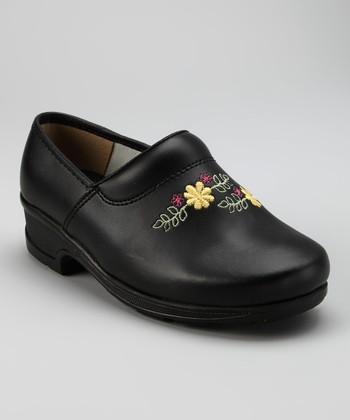 Black Linnea Closed Back Clog - Women