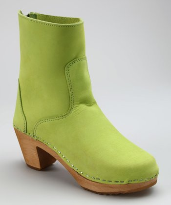 Lime Green Vasa Boot - Women