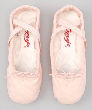 Capezio Pink Canvas Ballet Slipper