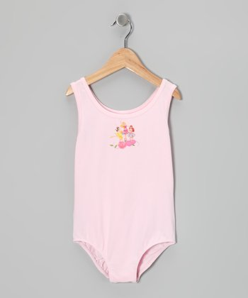 Pink Disney Princess Leotard - Toddler & Girls