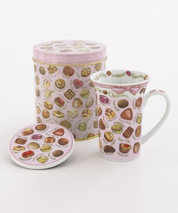 Chocolate 14-Oz. Mug Set