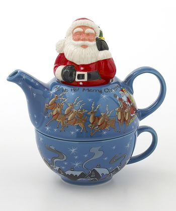 Santa Tea-for-One Set
