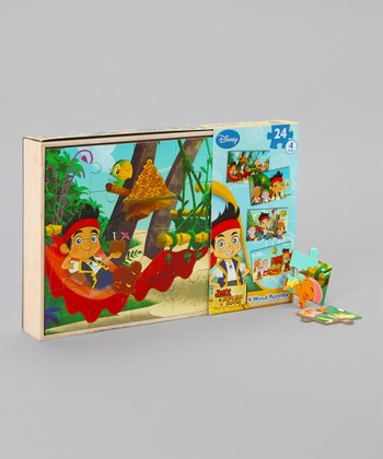 Jake and the Never Land Pirates Wood Puzzle Set