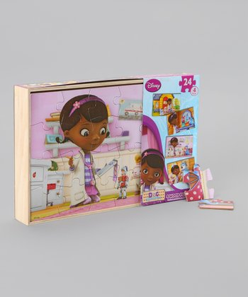 Doc McStuffins Wood Puzzle Set