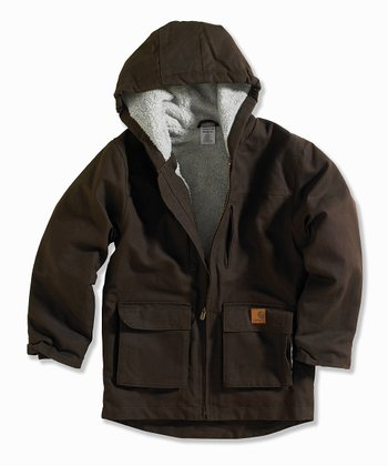 Brown Rancher Jacket - Boys