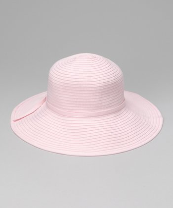 Blush Circle Seam Sunhat