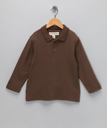 Kakua Dominica Long-Sleeve Polo - Infant, Toddler & Boys