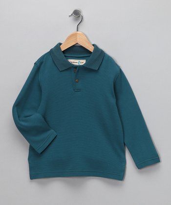 Scuba Dominica Long-Sleeve Polo - Infant, Toddler & Boys