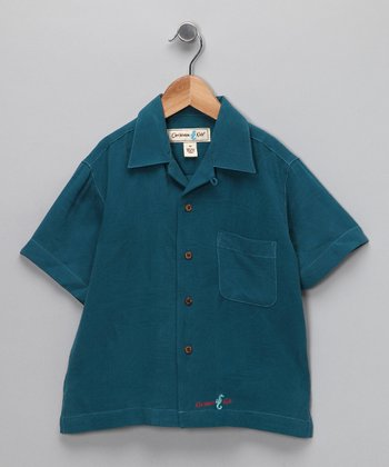 Scuba Lahaina Silk Camp Button-Up - Infant, Toddler & Boys