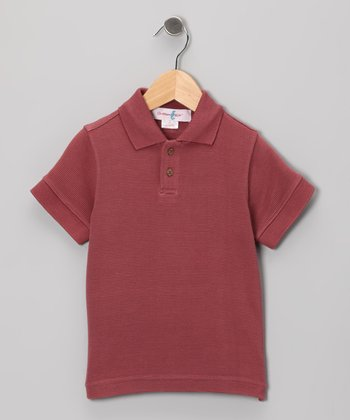 Marooned Trinidad Silk-Blend Polo - Toddler & Boys
