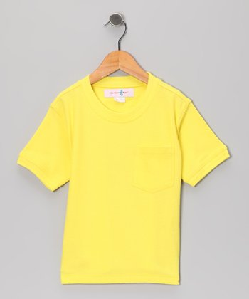 Starfish Yellow Cabana Tee - Toddler & Boys
