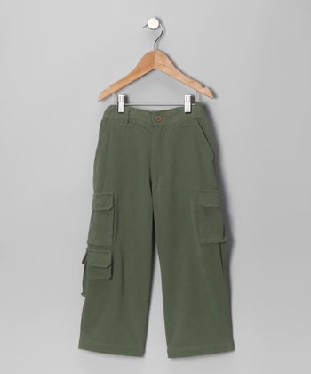 Jungle Havana Silk-Blend Cargo Pants - Toddler & Boys