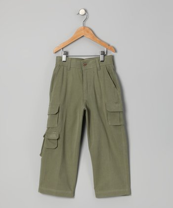 Seagrass Havana Silk Cargo Pants - Toddler & Boys