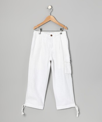 White Sail Bermuda Linen Pants - Toddler & Boys