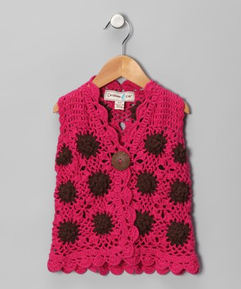 Fuchsia Bonita Floral Vest - Infant, Toddler & Girls
