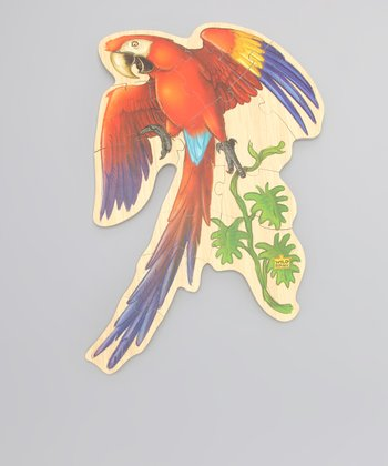 Macaw Wood Floor Puzzle