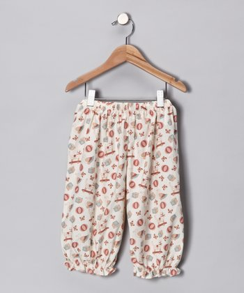 Ivory Old Fashion Toy Pants - Infant & Toddler