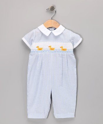 Blue Duck Romper - Infant